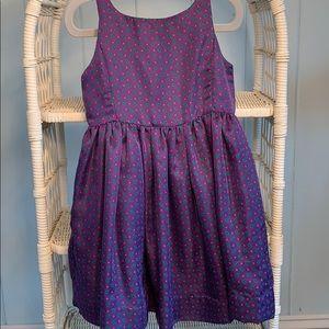 Ralph Lauren Silk Paisley Dress EUC